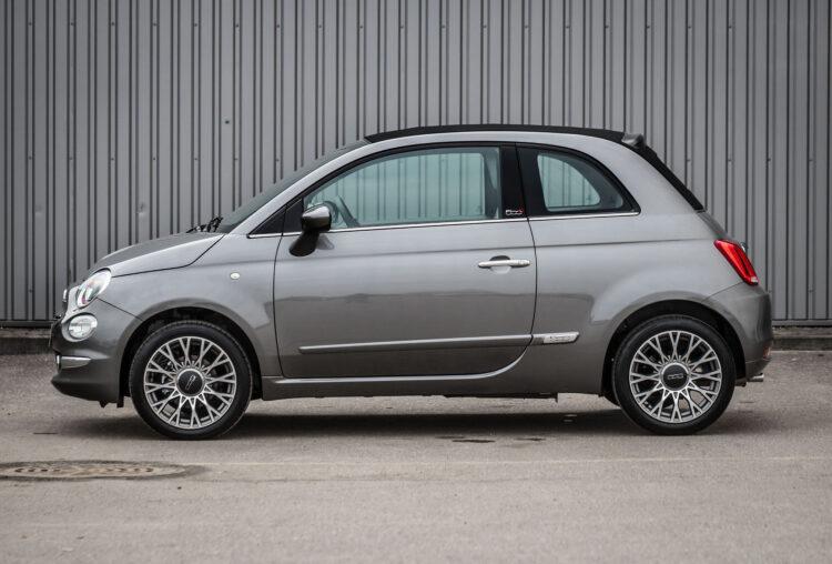 Fiat 500 STAR kabrioletas